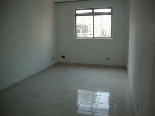 Apartamento Com 1 Dormitório Para Alugar, 40 M² Por R$ 2.100,00/mês - Gonzaga - Santos/sp - Ap2267