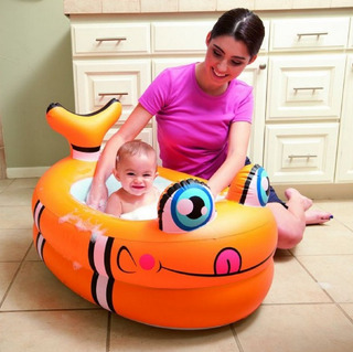 Pileta Bañadera Inflable Bebé Animales Baby Shopping