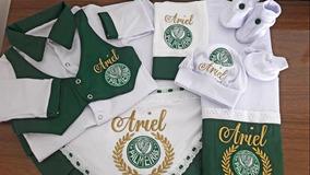 Enxoval Maternidade Palmeiras Personalizado