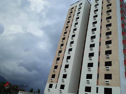 Imagem 1 de 22 de Apartamento Com 3 Dormitórios À Venda, 106 M² Por R$ 450.000,00 - Balneário Flórida - Praia Grande/sp - Ap2965
