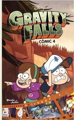 Imagen 1 de 2 de Gravity Falls. Comic 4  - Alex Hirsch