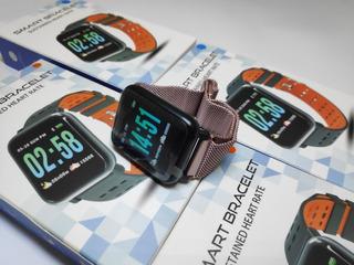 Smartwatch A6 Relógio Inteligente + Pulseira Milanese