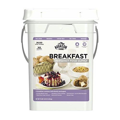 Augason Farms Breakfast Suministro De Alimentos De Emergenci