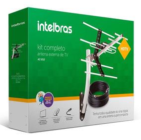 Antena Externa Tv Digital Uhf Hdtv Ae 5010 Intelbras + Cabo