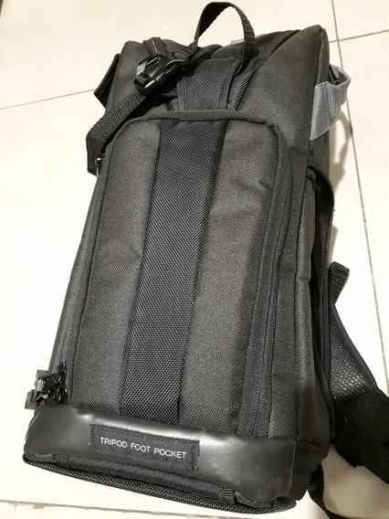 Mochila Fotográfica P/ Câmeras Dslr Tablet 10 Vivitar Dks12