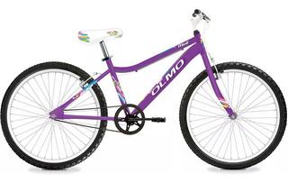 Bicicleta Olmo Mint 24 Mtb Nena Acero Sin Cambios -works!!