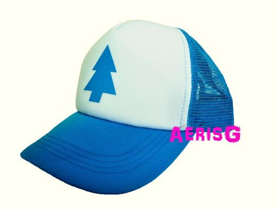 Arg Gravity Falls Gorra Ajustable Dipper Y Stan Pines Disney