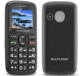 Celular Multilaser Vita Para Idoso 2 Chip/fm/câmera Novo