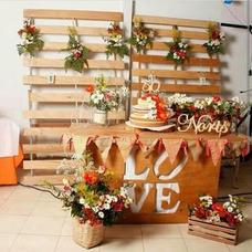 Mobiliario Para Fiestas,decoraciones Vintage,alquiler