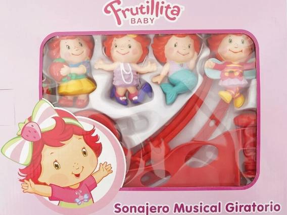 Mobile Giratorio Musical Infantil De Berço Moranguinho Baby