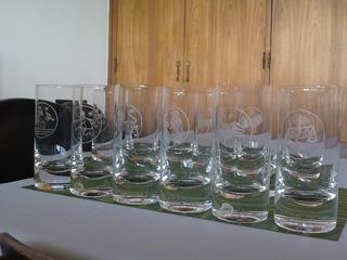 Vasos Altos De Cristal Moser Para Whiskey.
