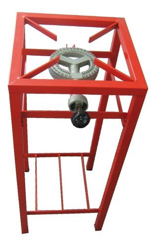 Imagen 1 de 1 de Anafe Industrial Foco 1 Hor. Alto 80cm 10000 Cal/h Caño Rojo
