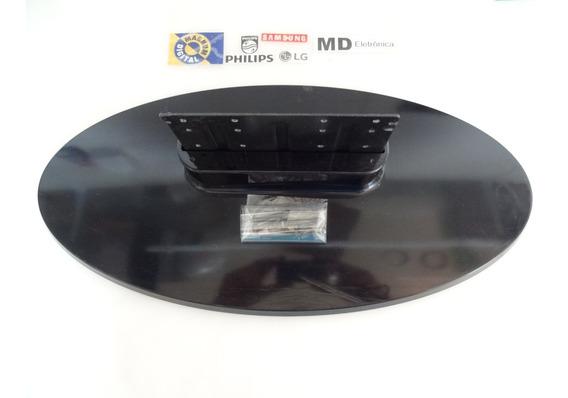 Suporte Base Pé Pedestal Tv Cce Tl660 Com Parafusos