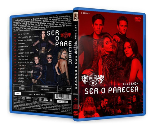 Dvd + Cd Rbd Live Ser O Parecer 2020 Deluxe + Brindes