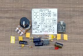 Kit Para Montar Amplificador Fone De Ouvido Stereo Tda2822