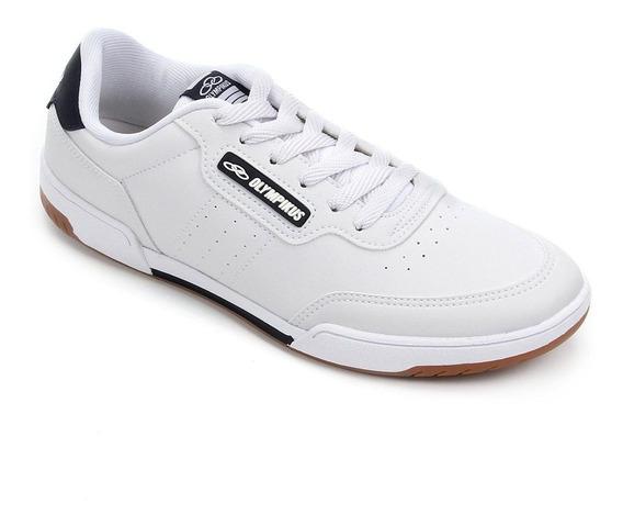 Tenis Masculino Branco Olympikus Control Barato Original