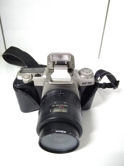 Câmera Fotográfica Analógica Pentax Mz50 (ler O Anúncio)