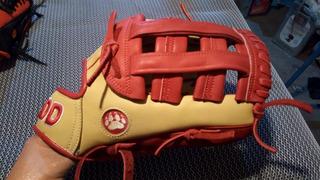 Manopla Softball Y Béisbol Add 13 Hueso Rojo