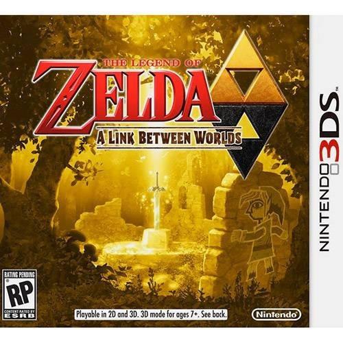 Jogo The Legend Of Zelda A Link Between Worlds