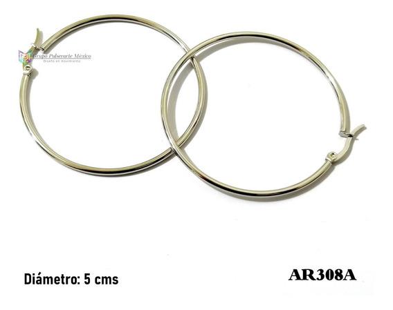 nuevo estilo 2184b 54f5b Arracadas Acero Inoxidable - Aretes en Mercado Libre México