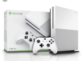 Xbox One S 1tb Slim Microsoft 4k Branco + Nota-fiscal