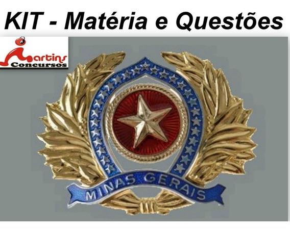 Apostila Kit Cfo Pmmg Matéria E Questões Impressa