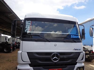 Mercedes Benz Atego 2429 Ano Fab/mod 2013 04 Eixo , Branco