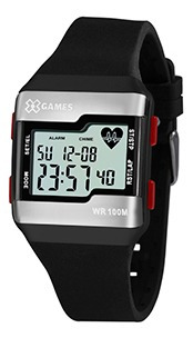 Relógio Unissex Monitor Cardíaco Xgames 100m Original+nf