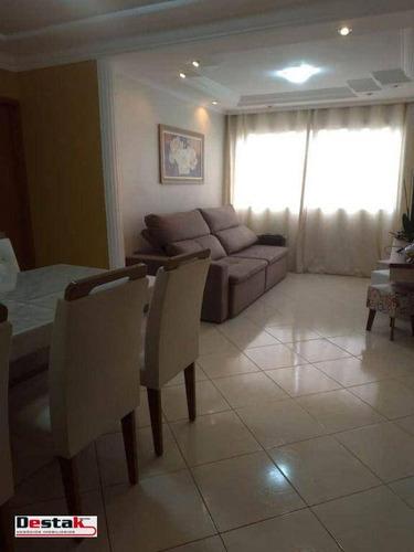 Imagem 1 de 25 de Apartamento, São Bernardo Do Campo - Parque Terra Nova, 80 Metros!! - Ap3091