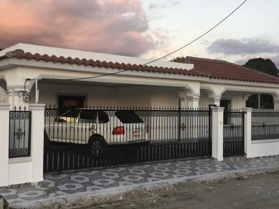 Hermosa Casa En San Juan De La Maguana, Don Homero Paniagua
