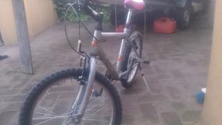 Bici R16 Niños Marca Halley Con Cambios / Impecable