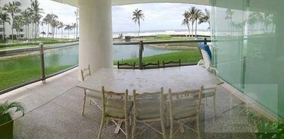 Cad Copán 101. De Playa. Terraza Con Vista Al Mar, Al Lago Y A Los Hermosos Jardines. Máx 12 Personas
