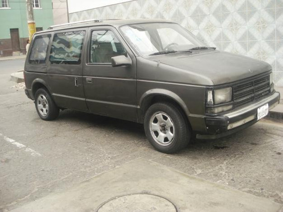 Camioneta Minivan Dodge Caravan Año 1985