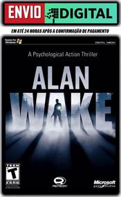 Alan Wake - Legendado Em Português - Pc - Envio Digital