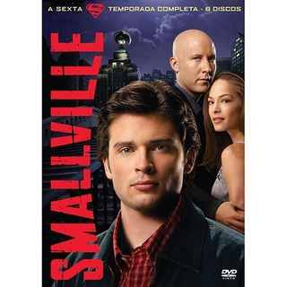 Dvd Smallville - 6ª Temporada - 6 Discos *original