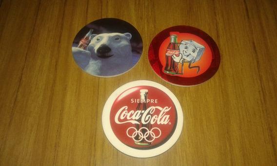 Lote Tazos Colección Coca Cola Oso Polar Olimpiadas Mirálos!