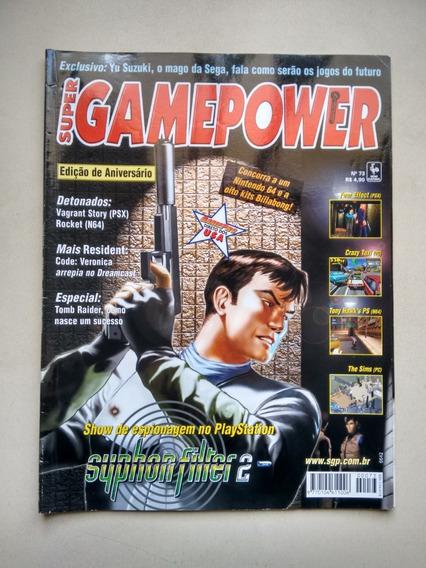 Revista Super Game Power 73 Suphon Filter 2 Detonados D569