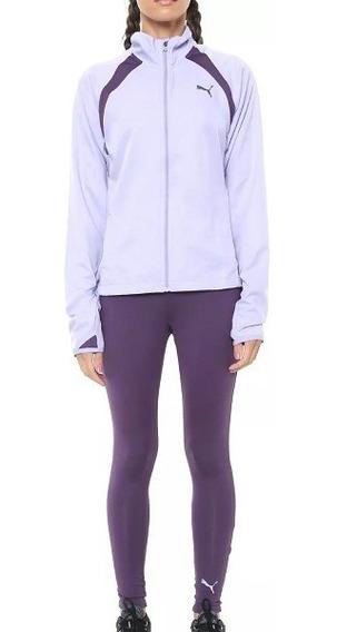 Conjunto Feminino Puma Yoga Inspired Suit - Roxo - Original