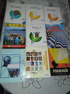 Libros Escolares Educación Media Bachillerato Usados