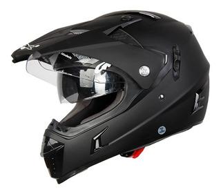 Casco Doble Propósito Gdr Mx-311 Solido Rider One