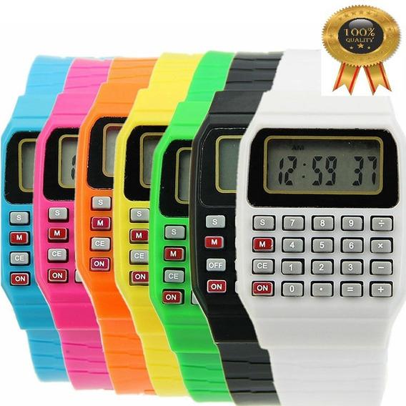 Relógio Calculadora Digital Infantil Vendedor Top