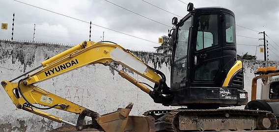 Mini-escavadeira Hyundai R35z-7a