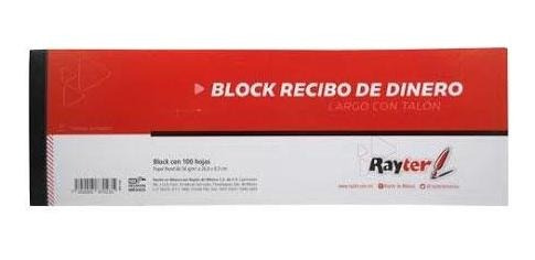 Block Recibo De Dinero C/50 Hojas C/2 Pcform