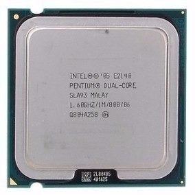 Processador Intel Pentium E2140 1m 1.60ghz 800m Pn: Sla3j