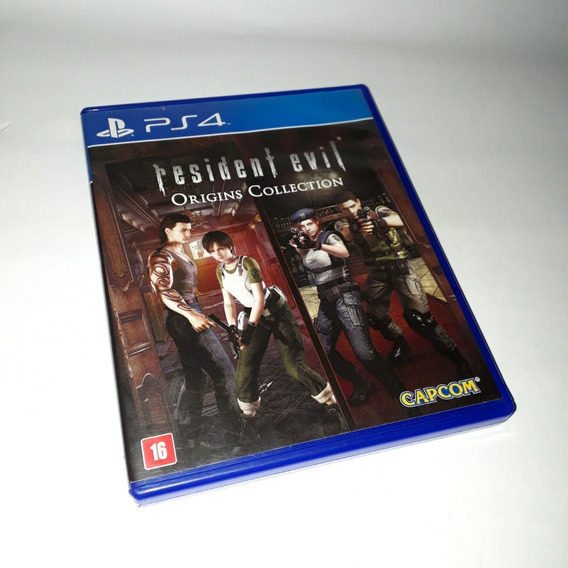 Jogo Resident Evil Origins Collection Ps4 Original Confira!