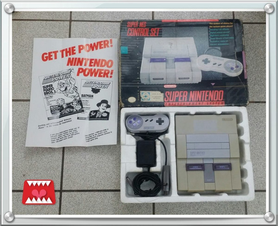 Console Super Nintendo Snes Americano Offboard 001 (leia!)