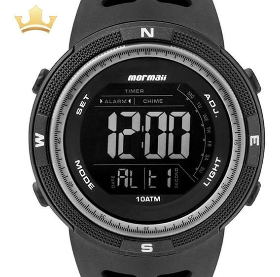 Relógio Mormaii Masculino Mo3590aa/8p C/ Garantia E Nf