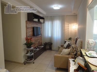 Apartamento Para Aluguel, 3 Dormitórios, Jardim Bosque Das Vivendas - São José Do Rio Preto - 1081