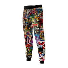 Pantalón Historietas Marvel Color N1 Full Print