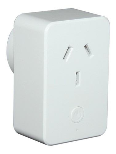 Imagen 1 de 5 de Enchufe Inteligente Wifi Gralf Gf-smsocket Max 10a Domotica